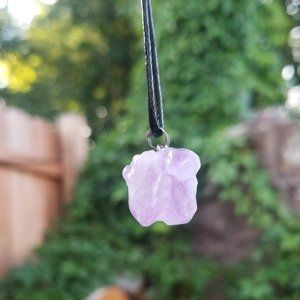 Raw Amethyst Nugget Crystal Healing Necklace